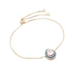 pulseira quartzo rosa